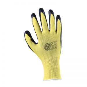 Ръкавици потопени в латекс
